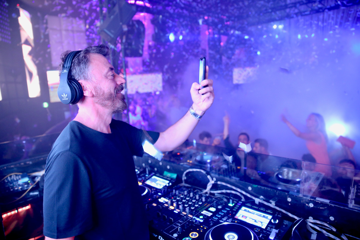 BENNY BENASSI au High Club à Nice le 17.08.18