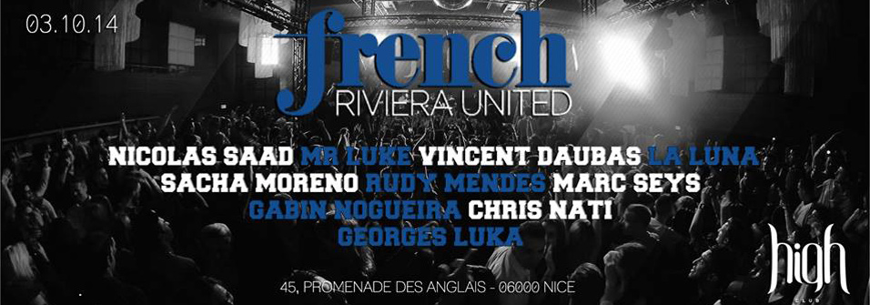FRENCH RIVIERA UNITED - 03.10.14