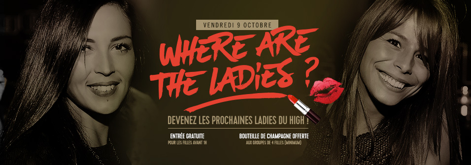 WHERE ARE THE LADIES - 09.10.15