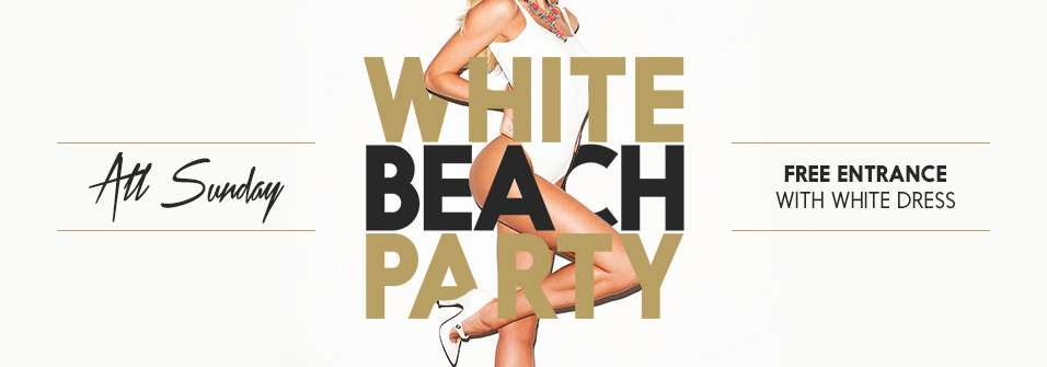 WHITE BEACH PARTY - 02.08.15