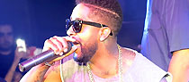 OMARION LIVE PERFORMANCE au High Club à Nice le 31.07.15